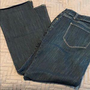 Simply Vera 18W boot cut jeans
